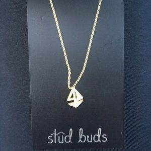 Jewelry - NWT sailboat necklace